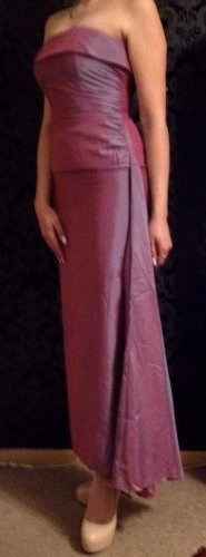 100% Fashion Evening Dress purple