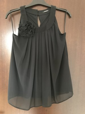 Xanaka Halter Top black polyester