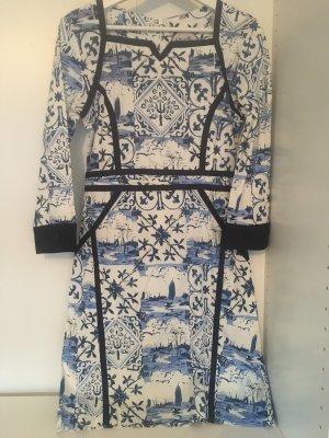 Almatrichi Sukienka z długim rękawem Wielokolorowy