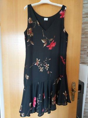 schickes asymetrisches Kleid mit elegantem Muster # D 40 - D 42