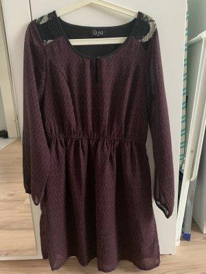 Blouse Dress bordeaux