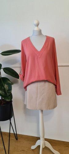 ATMOSPHÄRE Bluzka o kroju koszulki w kolorze różowego złota