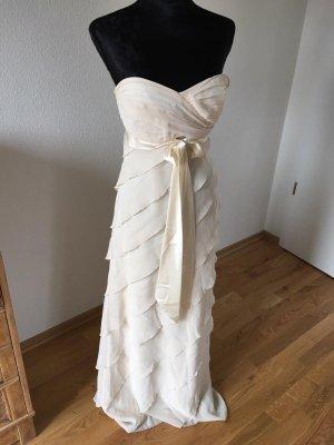 Zero Vestido de baile crema