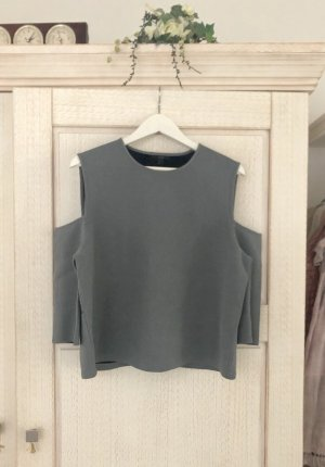 COS Top cut out gris