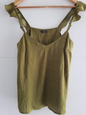 schickes Damen Top von Oysho oliv Größe M/38 NEU