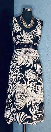 Debenhams Robe trapèze noir-blanc