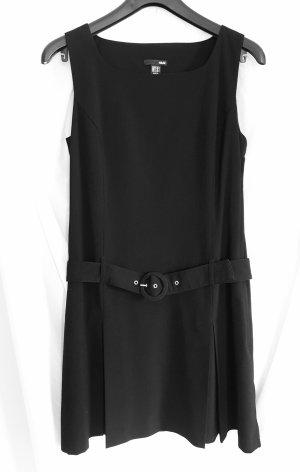 Schickes elegantes Etuikleid von H & M in schwarz, Größe 40