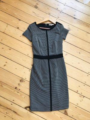 Schickes elegantes Kleid schwarz /weiß kleinkariert/ Business