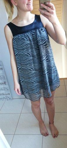 schickes, grau/schwarzes Kleid von myMo