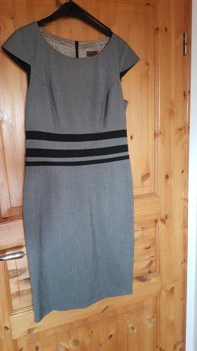 Selection by s.oliver Ołówkowa sukienka szary-taupe