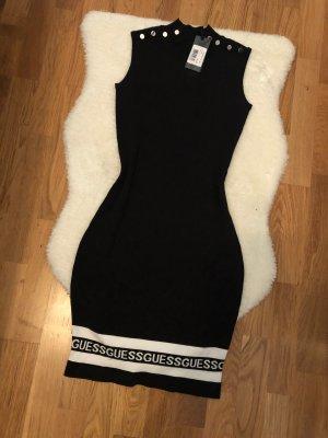 Schickes Guess Kleid mit Monogramm Bund Größe XS 34 36
