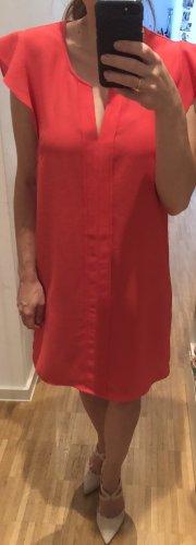 Schickes Kleid als Hochzeitsgast, Feier oder für den Sommer S 36 rot h&m