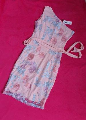 CBR One Shoulder Dress dusky pink-pink