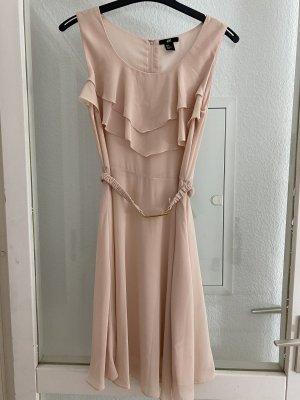 H&M Robe chiffon rosé