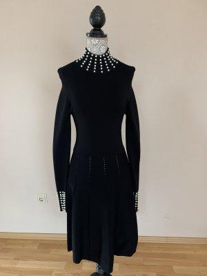 Schickes Kleid mit Perlenbesatz