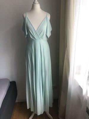 Schickes Kleid | tiefer Ausschnitt | Türkise