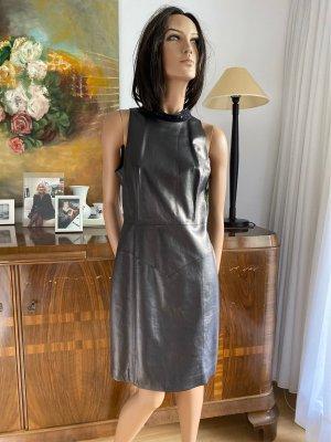 Schickes Lederkleid von Chanel Gr.42F, 38/40D Neuwertig !