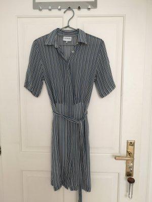 Schickes, leicht transparentes Hemd-Kleid von Ganni