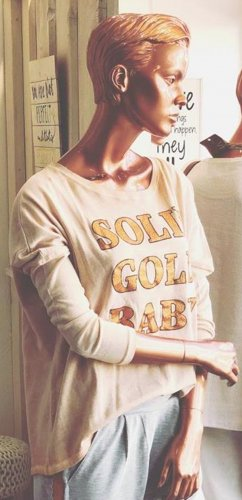 Cotton Candy Longsleeve nude-rose-gold-coloured