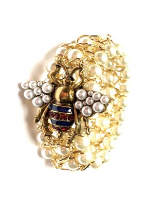 Asos Bransoletki z perłami Wielokolorowy