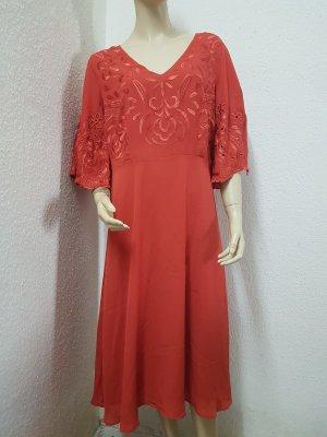schickes orangenes Kleid von heine NEU Gr. 38