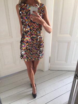 Danity Sequin Dress multicolored