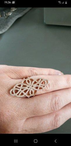 Christ Gold Ring rose-gold-coloured