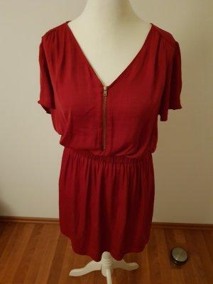 Atmosphere Sukienka dresowa ciemnoczerwony