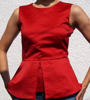 Zara Splendor Blouse red-brick red