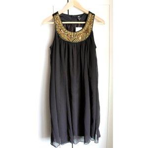 schickes schwarzes Kleid Gr. 36 von H&M