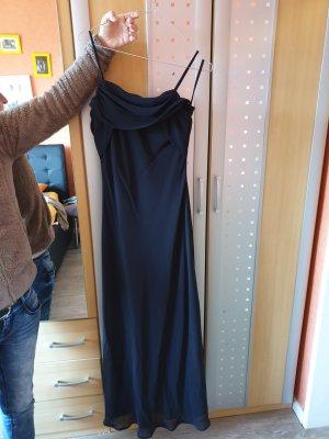 schickes schwarzes Kleid S