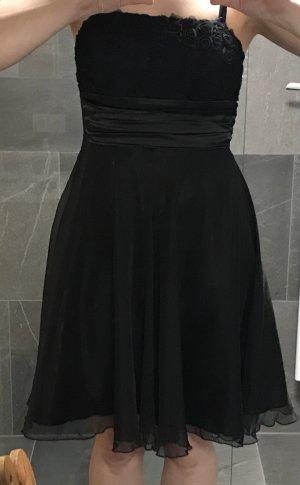 Chilli Pinafore dress black polyester