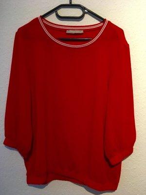 Betty & Co Top à manches longues rouge foncé-rouge
