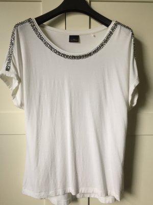 Your Sixth Sense Koszulka z dekoltem w łódkę biały