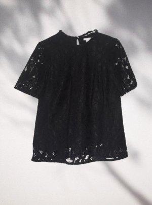 H&M T-shirt czarny