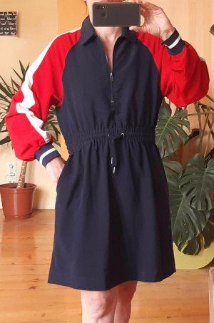 Monki Abito blusa camicia multicolore Viscosa