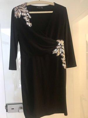 Schickes Stretch Kleid mit Pailletten von bonprix