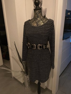 andere Marke Knitted Dress grey-black