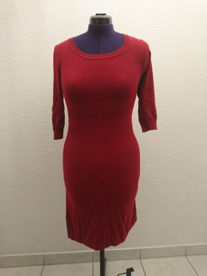 Zero Vestido tejido rojo