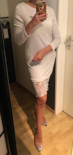 1.2.3 Paris Abito di maglia bianco sporco