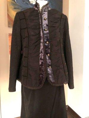 Frank Walder Ladies' Suit dark brown polyester