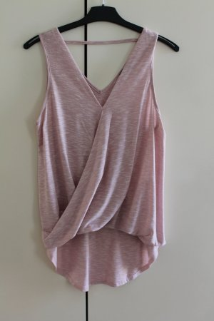 Athmosphere Cowl-Neck Top pink-light pink