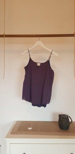 edc Basic Top azure-grey violet polyester