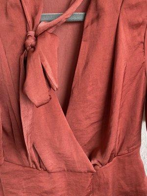 Primark Top z baskinką bordo-głęboka czerwień