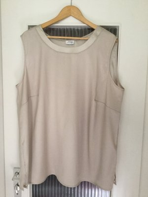 Atelier Creation Sleeveless Blouse gold-colored