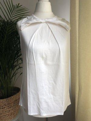 Schickes Trägertop | besondere Details | Weiß