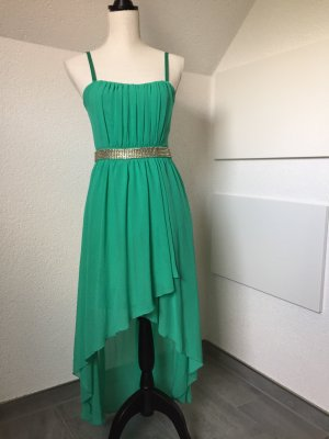 Marie Lund High Low Dress turquoise