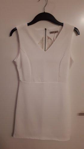 Schickes weißes Kleid Gr. L/XL