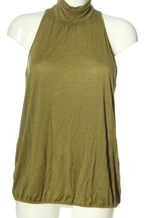 Schiesser Sleeveless Blouse green casual look