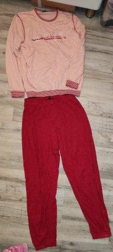 Schiesser Pyjama rood
